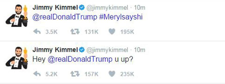I tweet di Jimmy Kimmel